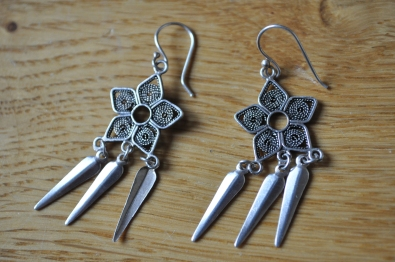 Flower Earrings - Nomads, Cambridge