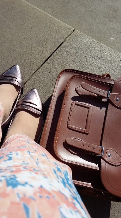 Shoes - Accessorize; Satchel - Cambridge Satchel Company