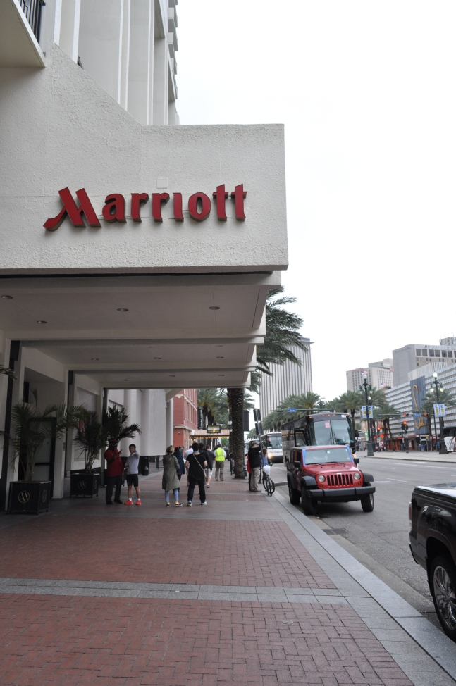 The Marriott on Canal Street