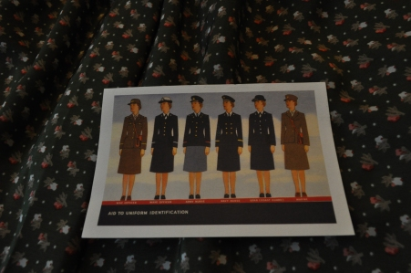 Standing to attention! Retro postcard from National World War II Museum store