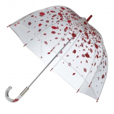 Raining Lips Birdcage Umbrella